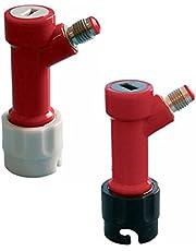 PERA BF PLSET-Becker MFL Gas&Liquid Quick Beer keg Pin Lock Disconnect Set, 1/4, Black, White, red