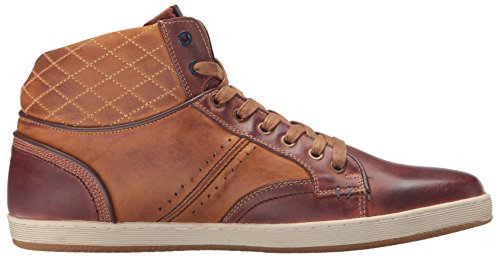 Fashion Leather Bunker Steve Men Madden Sneaker Tan fgwxZtYq