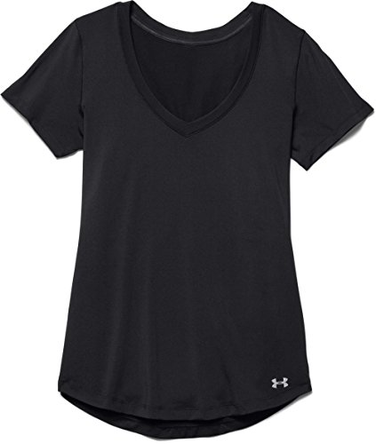 1b42ee83 Under Armour Women's Perfect Pace T-Shirt, Black/Black, Medium - Buy Online  in Oman. | Sports Products in Oman - See Prices, Reviews and Free Delivery  in ...