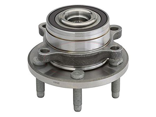 Ford Axle Bearings - Detroit Axle Complete Wheel Hub & Bearing Assembly 2011-2015 Ford Explorer