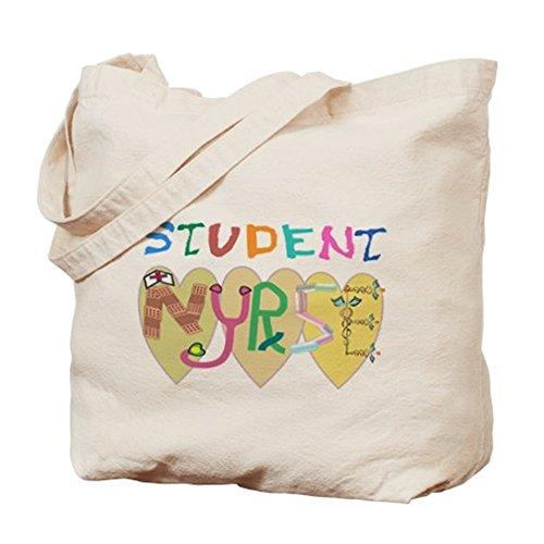 CafePress–Nursing Student–Borsa di tela naturale, panno borsa per la spesa