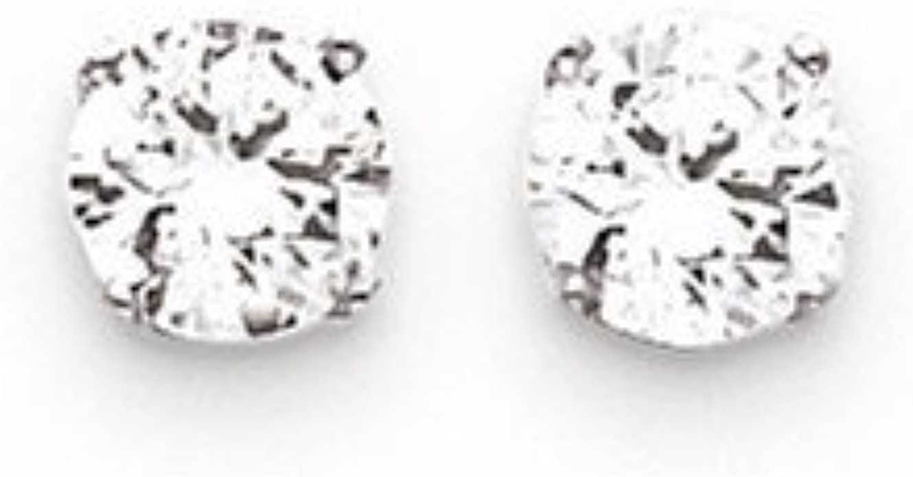 No Stones Base Only 14k White Diamond Earring Jackets Mountings