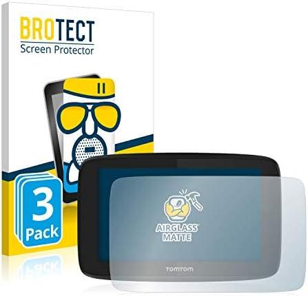 BROTECT Antireflecterende Glas Screenprotector compatibel met TomTom GO Essential 5 3 StuksAntiGlare Beschermglas met 9H hardheid Mat
