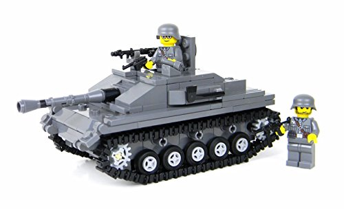 Deluxe German StuG Tank - Battle Brick Custom Set