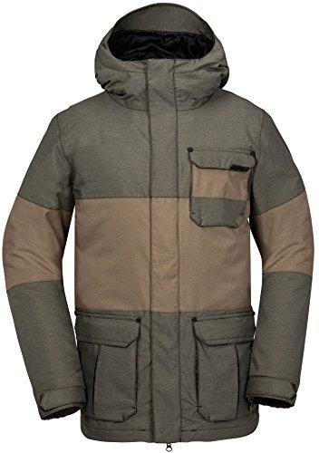 Volcom Captain Insulated Snowboard Jacket Mens SZ M