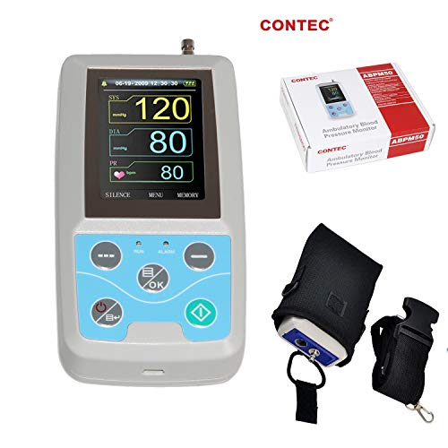 CONTEC 24 Hours Ambulatory Blood Pressure Monitor ABPM50 Free PC Software