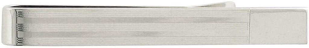 David Donahue Men's Sterling Silver Slide On Tie Bar (TB310202)