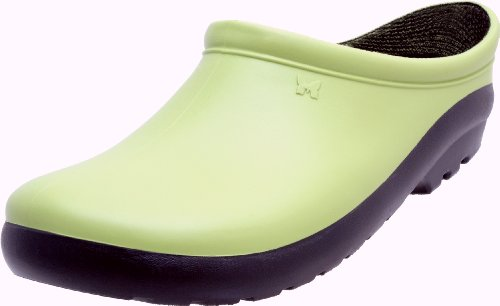 Sloggers Women's Premium Garden Clog with Premium Insole Insole, Kiwi Green
