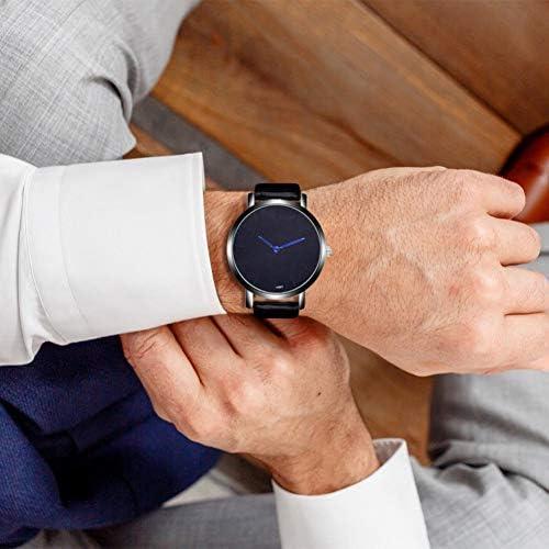 Eotifys Regarder Montres Hommes Design de Mode Bande Alliage Quartz Montres-Bracelets Simple Montre de Mode décontractée