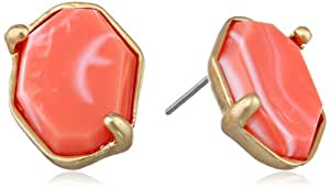 "Kenneth Cole New York ""Color Splash"" Faceted Bead Stud Earrings"