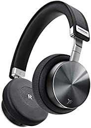 VONMÄHLEN Wireless Concert One – Wireless Bluetooth Headphones – Genuine Leather On-Ear Headphones w/ 21h Batt