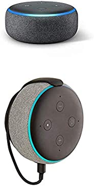 """Echo Dot (3rd Gen) bundle with""""Made for Amazon"""" Mount for Echo Dot"""