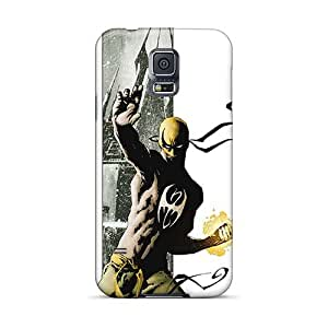 Anti-Scratch Hard Cell-phone Cases For Samsung Galaxy S5 (XRH1907BVdj) Provide Private Custom High-definition Iron Fist I4 Image