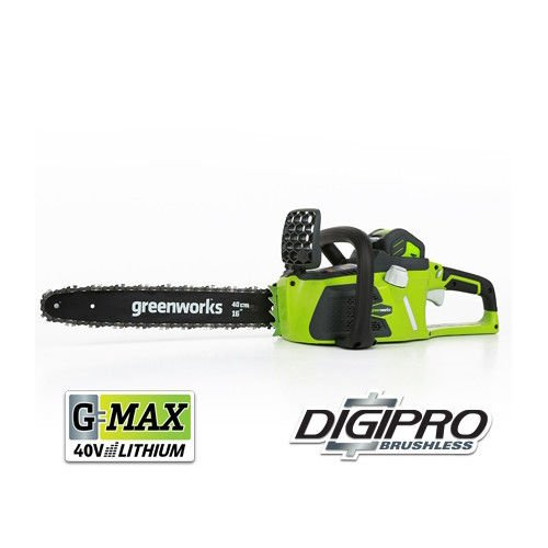 GreenWorks 20312 G-MAX 40V 16-Inch Cordless Chainsaw, 4AH Battery and a Charger Included by Greenworks