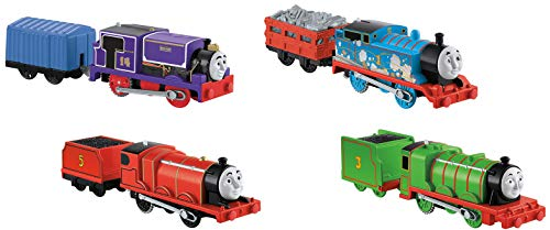 Thomas & Friends Fisher-Price Trackmaster Engines 4 Pack Toy, Multicolor DFN22 -