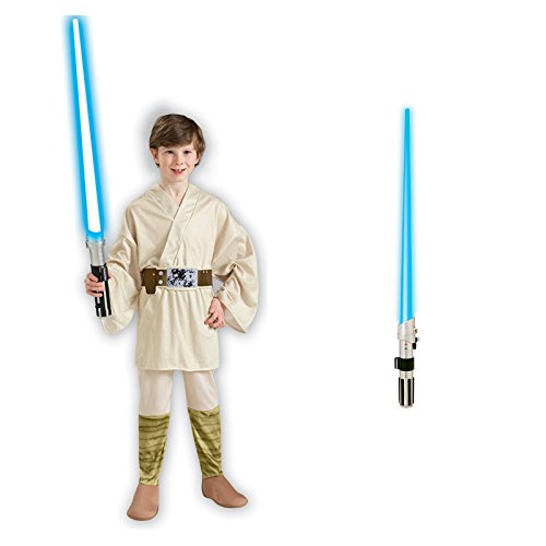 Star Wars Luke Skywalker Child Costume Bundle Set - Medium