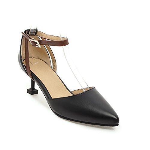 Femme Sandales Compensées Noir 5 Noir 36 BalaMasa EU gEqdw5q