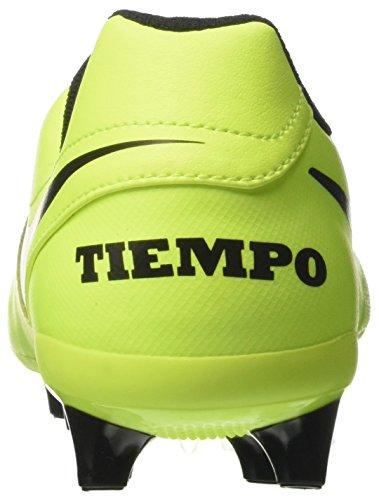 NIKE Botas Leather Genio Hombre fútbol Tiempo volt para Amarillo de Agpro Black II Volt qwxCrXw