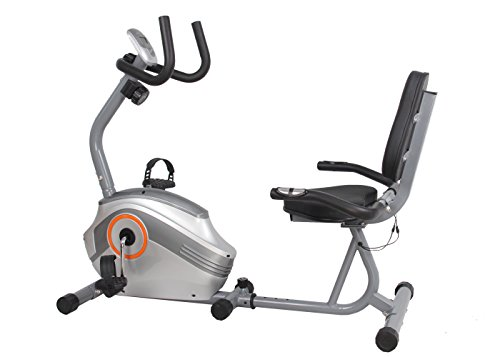 US Pride Furniture FN98005B Gym for Fitness Magnetic Recumbent Exercise Bike US Pride Corp -- DROPSHIP