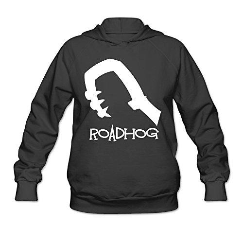Overwatch Women's Roadhog Hoodies Sweater Size XL Black