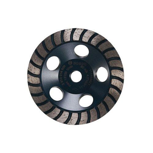 (Bosch DC4530H 4.5-Inch Diameter Turbo Row Diamond Cup Wheel with 5/8-11)