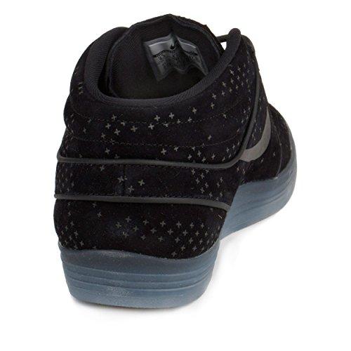 best sneakers 8785f dd598 Nike Mens Lunar Stefan Janoski Mid Flash Black Clear Black - Import It All
