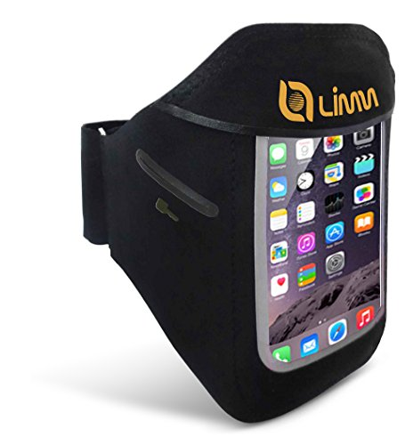 Limm Sport Armband for iPhone 7, iPhone 6s/6, Samsung Galaxy S6/S5 -...