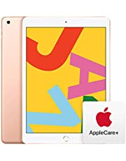 $348 » New Apple iPad (10.2-Inch, Wi-Fi, 32GB) - Gold (Latest Model) with AppleCare+ Bundle