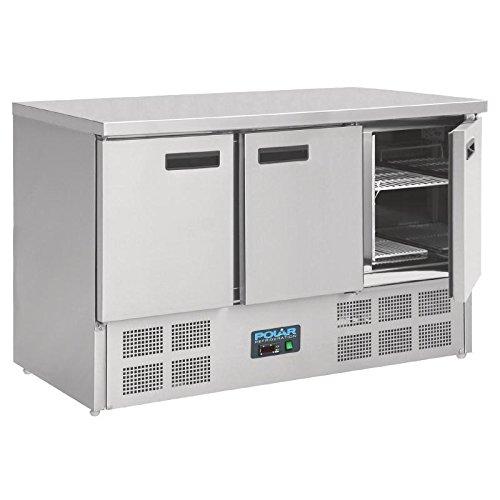 Table réfrigérée 3 portes 368 Litres Polar
