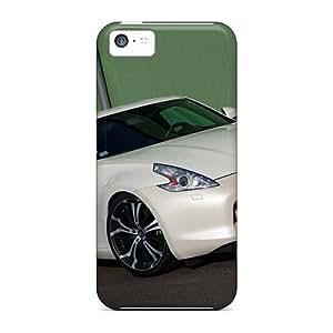 Tpu JamesDLaughlin Shockproof Scratcheproof Senner Tuning Nissan 370z Whitelady '2009â2 Hard Case Cover For Iphone 5c