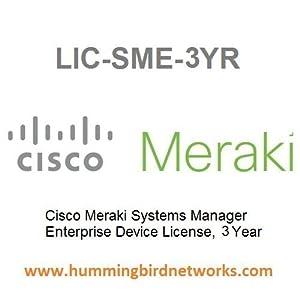 LIC-SME-3YR Meraki Systems Manager Enterprise License, 3 Year