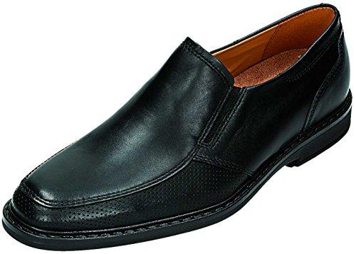 FRETZ men - Zapatos de cordones para hombre Negro schwarz Extra Weit Negro - schwarz Extra Weit