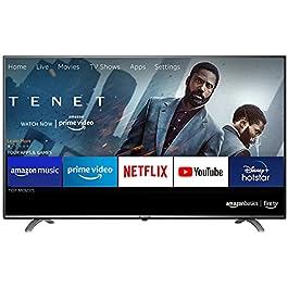 AmazonBasics 108cm (43 inch) 4K Ultra HD Smart LED Fire TV AB43U20PS (Black)