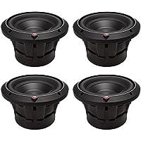 4) ROCKFORD FOSGATE P2D2-8 8 Punch 2000W 2-Ohm DVC Car Audio Subwoofers P2D28