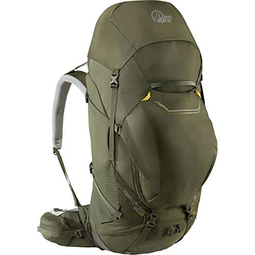 Lowe Alpine Cerro Torre 65:85L Backpack Dark Olive, M/L (Lowe Alpine Women)