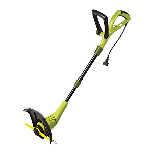 Sun Joe SB601E Sharper Blade Stringless Electric Trimmer/Edger, Green