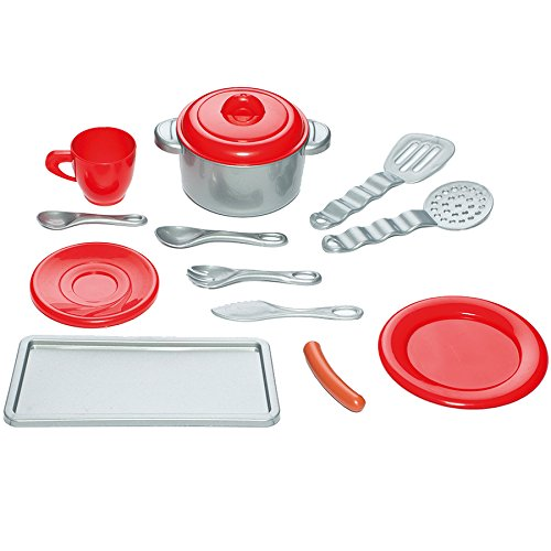 Molto  Master  Play Kitchen with Electrical Functions (Red Grey)