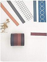 Toruiwa Washi Tape Set,10 Rollen Vintage Dekoratives Klebeband,f/ür DIY Scrapbooking//Bastelarbeiten//Fotoalbum//Notizbuch Dekoration Alte Zeit