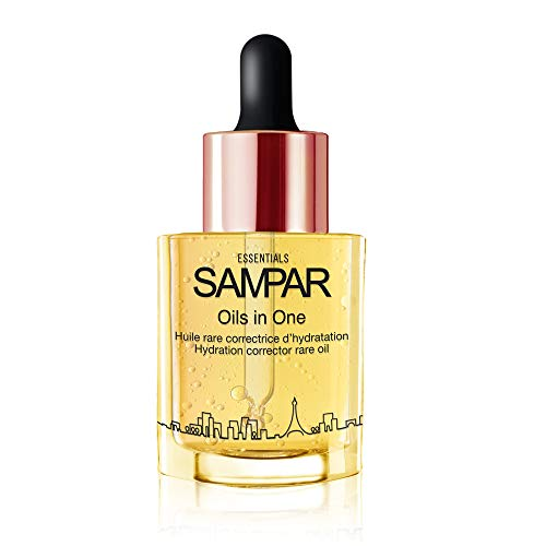 (SAMPAR- OILS IN ONE - Hydration Corrector Face Oil With Hyaluronic Acid - All Skin Types- 93% Natural Origin - Cruelty-Free- 1 oz)