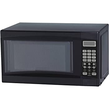 Amazon Com Mainstays 0 7 Cu Ft Microwave Oven Black