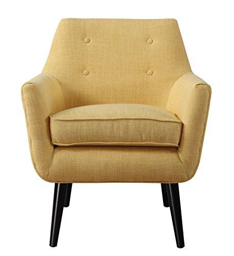TOV Furniture The Shev Collection Velvet Upholstered Living Room Settee Sofa Loveseat, Brown
