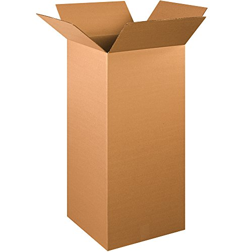 "Aviditi 151536 Corrugated Box, 15""L x 15""W x 36""H (Pack of 15) from Aviditi"