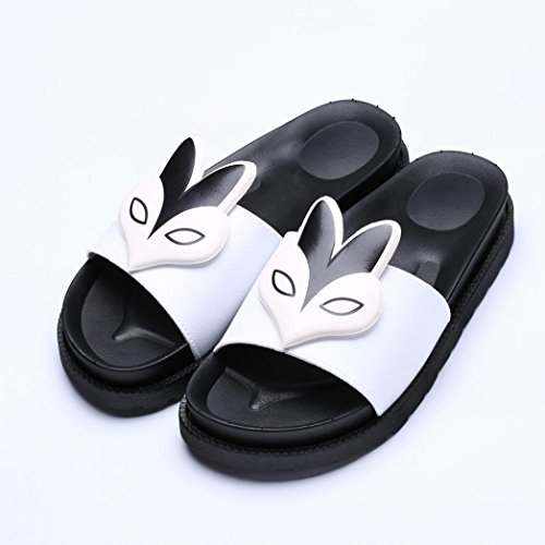The New Fish Mouth Rome Men's Sandals(White) - 4