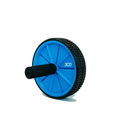 3coFit Ab Roller Wheel in Blue Color for Core Strength, Abdominal & Stomach Training, Portable and Lightweight, Perfect for Fitness Exercises by 3coFit