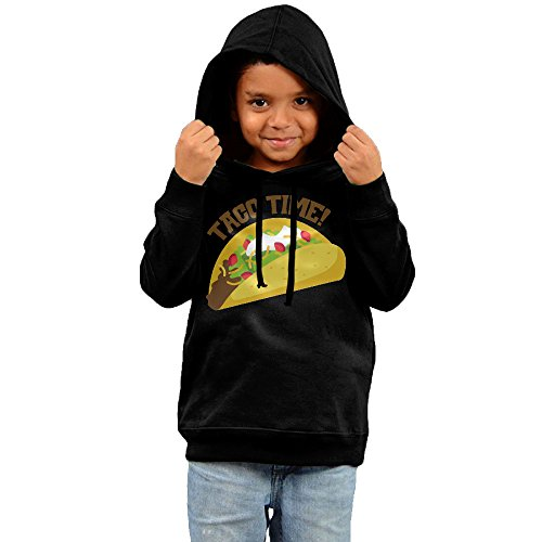 Toddler TACO TIME Tacos Love Cool Hoodies Unisex