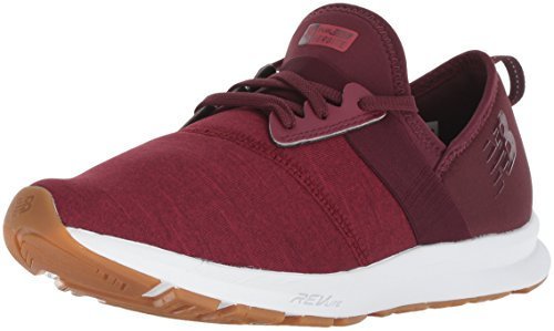 New Balance Women's Nergize V1 FuelCore Sneaker,NB BURGUNDY,9 B US (Shoes New West Women)
