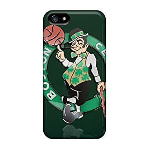Iphone 5/5s ImE5087VVyP Boston Celtics 3d Logo Tpu Silicone Gel Case Cover. Fits Iphone 5/5s