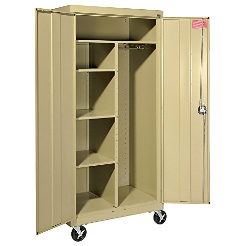 Sandusky Lee TACR362472-04 Transport Series Mobile Combination Storage Cabinet, Tropic (Series Mobile Combination Cabinet)