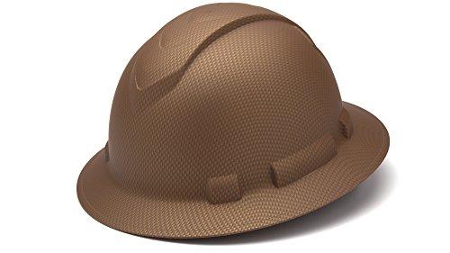 Pyramex HP54118 Ridgeline Copper Pattern Full Brim Ratchet Hard Hat (12 Each) by Pyramex (Image #1)