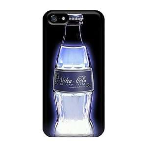 Iphone 5/5s Case Slim [ultra Fit] Nuka Cola Quantum Light Protective Case Cover